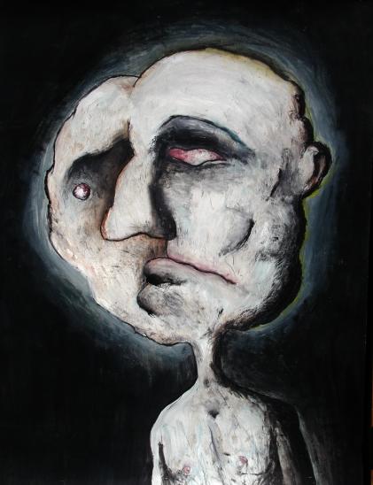 homme bicephale